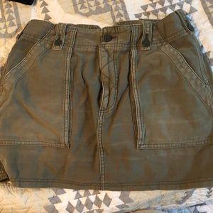 Free People Cargo skirt